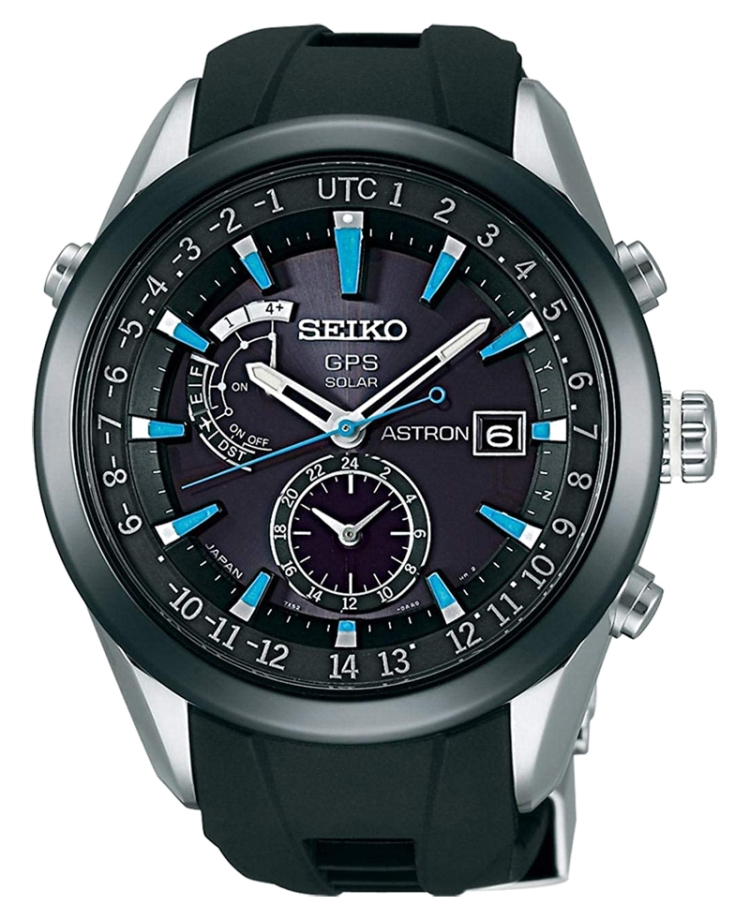 Seiko Watch model Astron at Auction, GPS Solar Chronograph – 7X52-0AB0 – Men – 2011-present