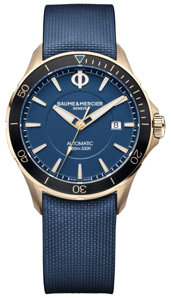 Baume & Mercier Clifton Club Blue Review