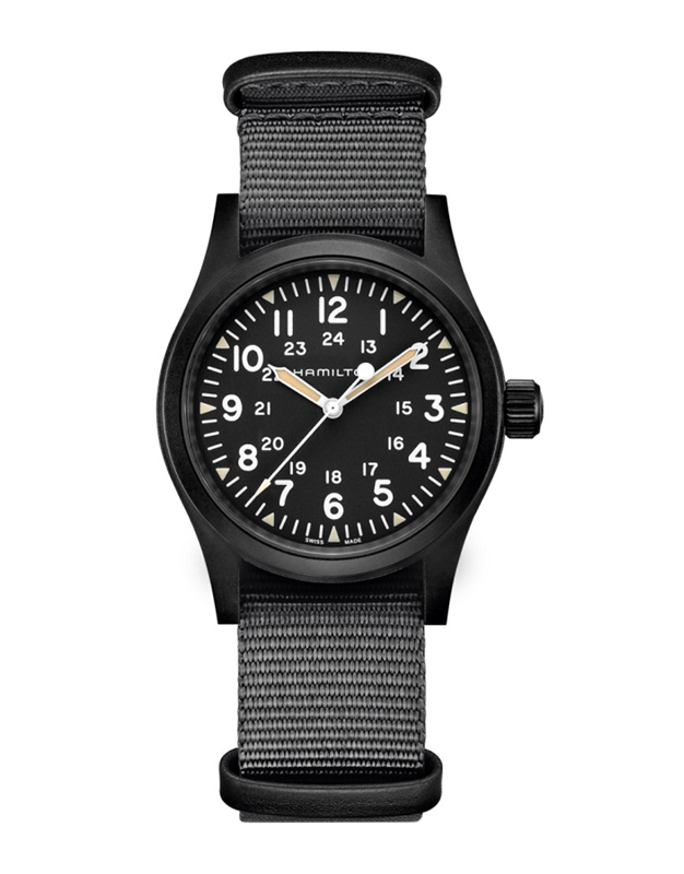Hamilton Khaki Field Mechanical Black Review