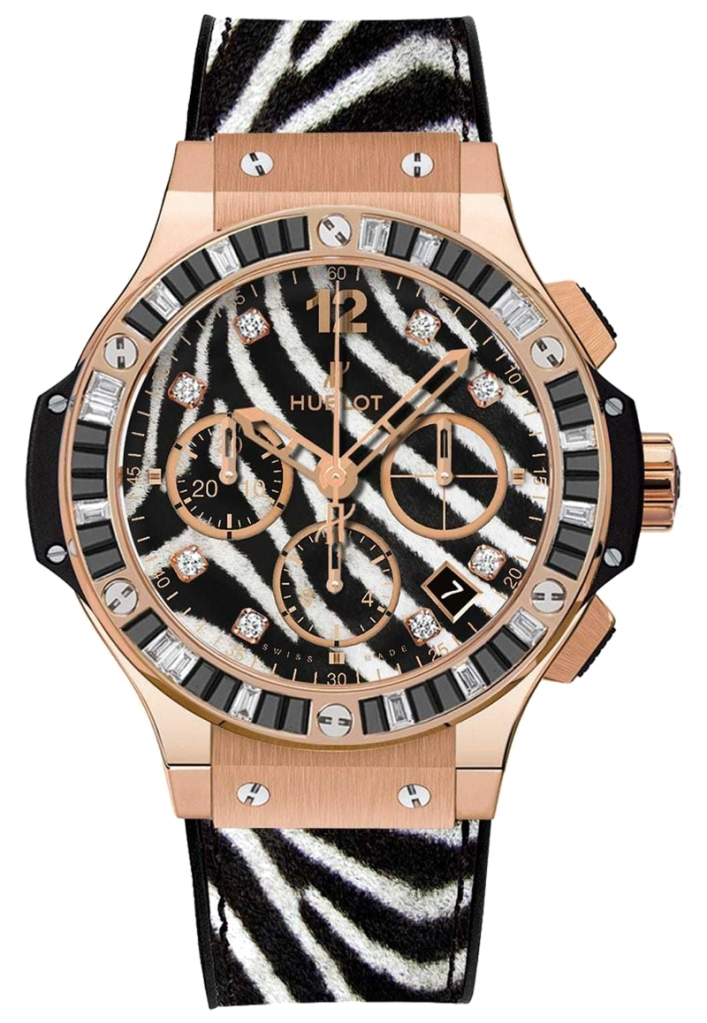 Hublot Watch model Big Bang Zebra 41 mm at Auction, Ladies Automatic Pink Gold - Women - 2011-present
