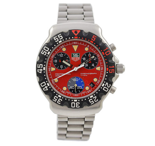 TAG Heuer Watch model Formula 1 Series at Auction, Chronograph, Analogue Wristwatch, CA 1215 - Men - 1990-1999