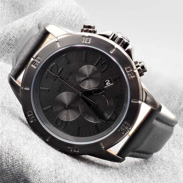 Delbana Watch model Silverstone Full Black at Auction, Chronograph - Swiss Made - Men - 2011-present