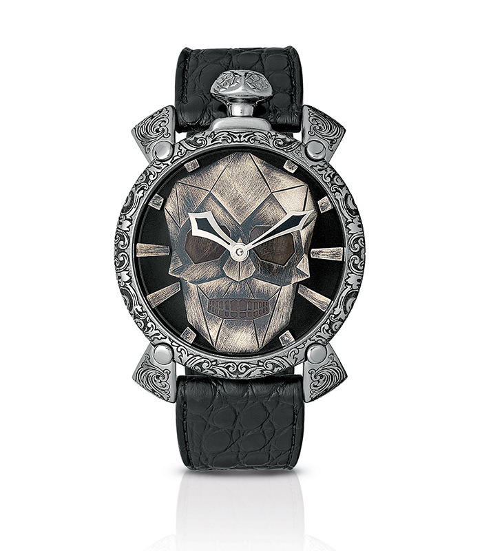 GaGà Milano Watch model Mechanical Skullpture Limited Edition at Auction, Manual 48 mm Swiss Made - Men - Brand New