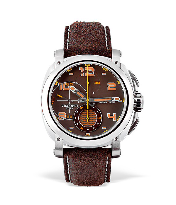 Visconti Watch model Majorca Tobacco Limited Edition at Auction, Automatic Chronograph - Men - Brand New