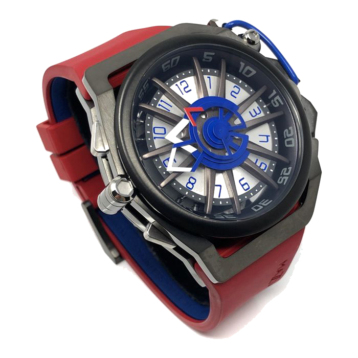 Mazzucato Watch model RIM Reversible Red GT at Auction, Automatic and Quartz Chronograph - Men - Brand New